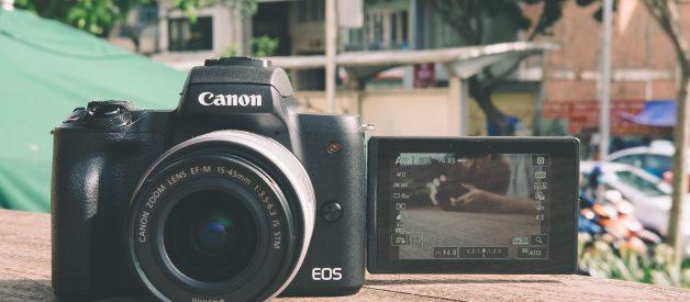 Máy ảnh Canon EOS M50, máy ảnh mirrorless cho những chuyến di du lịch